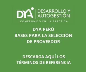 DYA Perú: selección de proveedor para adquisición de abono orgánico