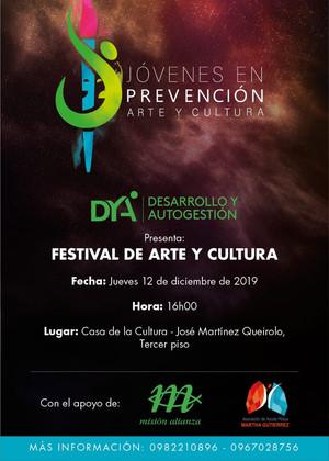 DYA invita al Festival de Arte y Cultura en Guayaquil