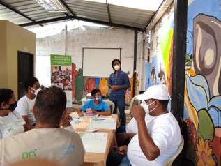 Lideres de Monte Sinaí plantean propuestas para fortalecer la salud integral de la comunidad