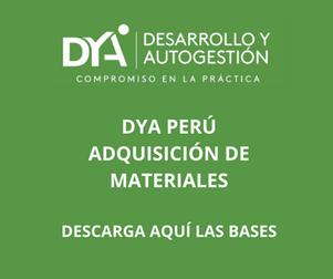 DYA Perú: adquisición de máquina secadora de café
