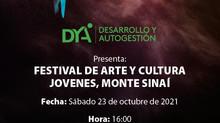 DYA te invita al Festival de arte y cultura en Monte Sinaí
