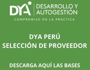 DYA Perú: adquisición de sacos de polipropileno tejido