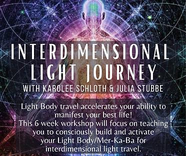 Interdimensional Light JourneySix Week W