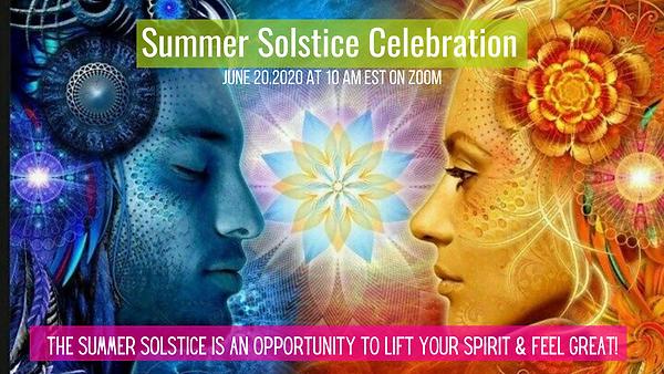 Copy of Summer Solstice Celebration June