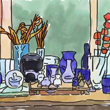 Vases No60 Kitchen Window