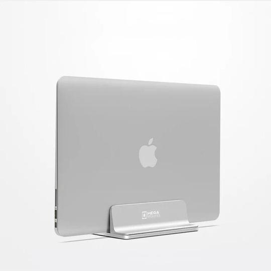 Mega Mounts - Vertical Laptop Stand, Adjustable MaBook Stand - Aluminium