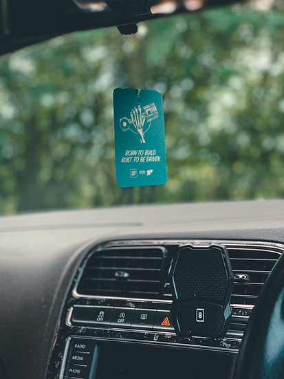 Born To Build, Built To Be Driven Hanging Air Freshener!