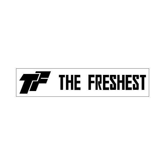 The Freshest Box Logo Sticker