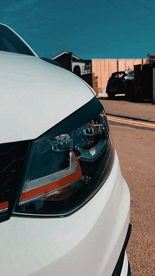 VW Polo GTi Headlight Brows