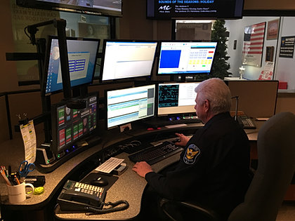 Maywood Police Department New Dispatch Center
