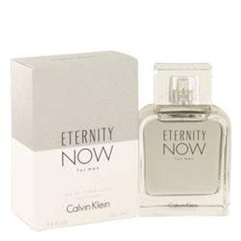 Eternity Now Eau De Toilette Spray By Calvin Klein 100 ml