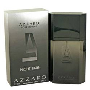 Azzaro Night Time Eau De Toilette Spray By Azzaro 100 ml