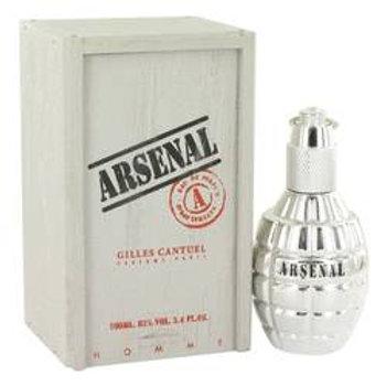 Arsenal Platinum Eau De Parfum Spray By Gilles Cantuel 100 ml