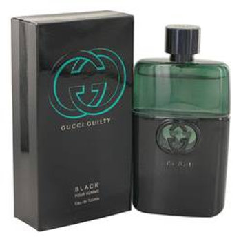 Gucci Guilty Black Eau De Toilette Spray By Gucci 90 ml