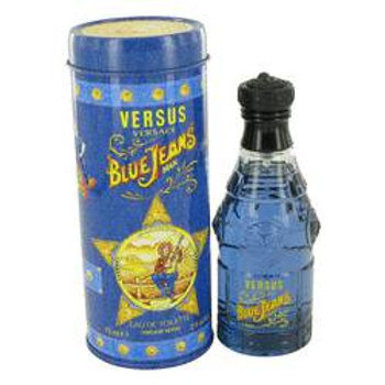 Blue Jeans Eau De Toilette Spray (New Packaging) By Versace 75 ml