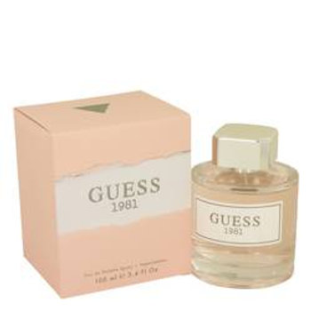 Guess 1981 Eau De Toilette Spray By Guess 100 ml