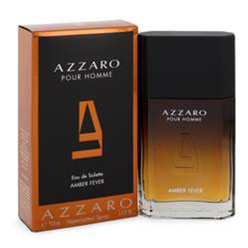 Azzaro Amber Fever Eau De Toilette Spray By Azzaro 100 ml