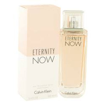 Eternity Now Eau De Parfum Spray By Calvin Klein 100 ml