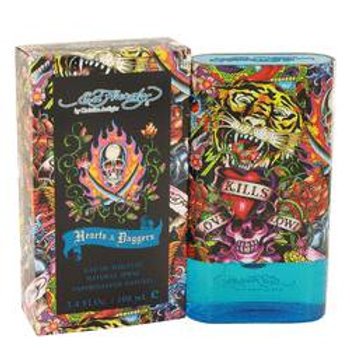 Ed Hardy Hearts & Daggers Eau De Toilette Spray By Christian Audigier 100 ml