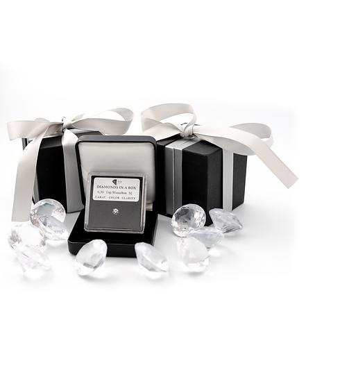 Diamond in a Box Geschenk Box Idee Taufe Weihnachten Geburtstag Frau Geschenk Taufe Hochzeitstag Geschenkidee
