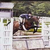 Lenka Radomil horse show childrens hunter horseback riding boarding