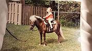 Pony ride horse riding lessons hunter jumper horseback children ponyride