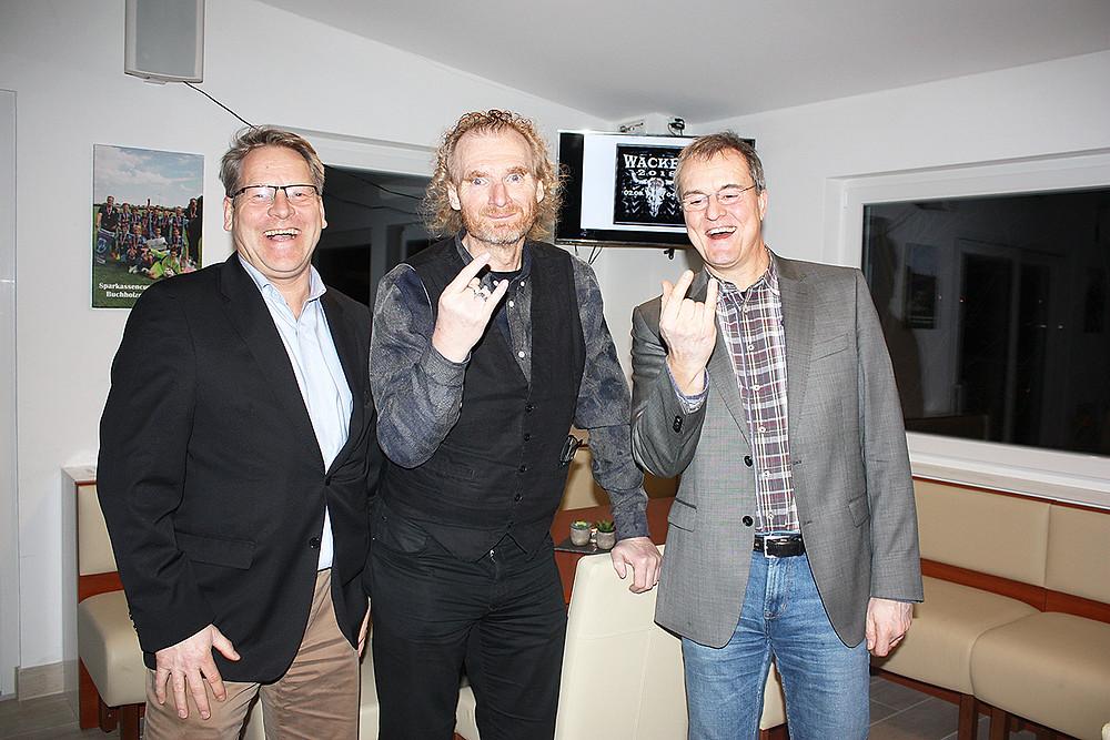 V.l.n.r.: Oliver Arndt, Holger Hübner, Hans Jürgen Lorenschat