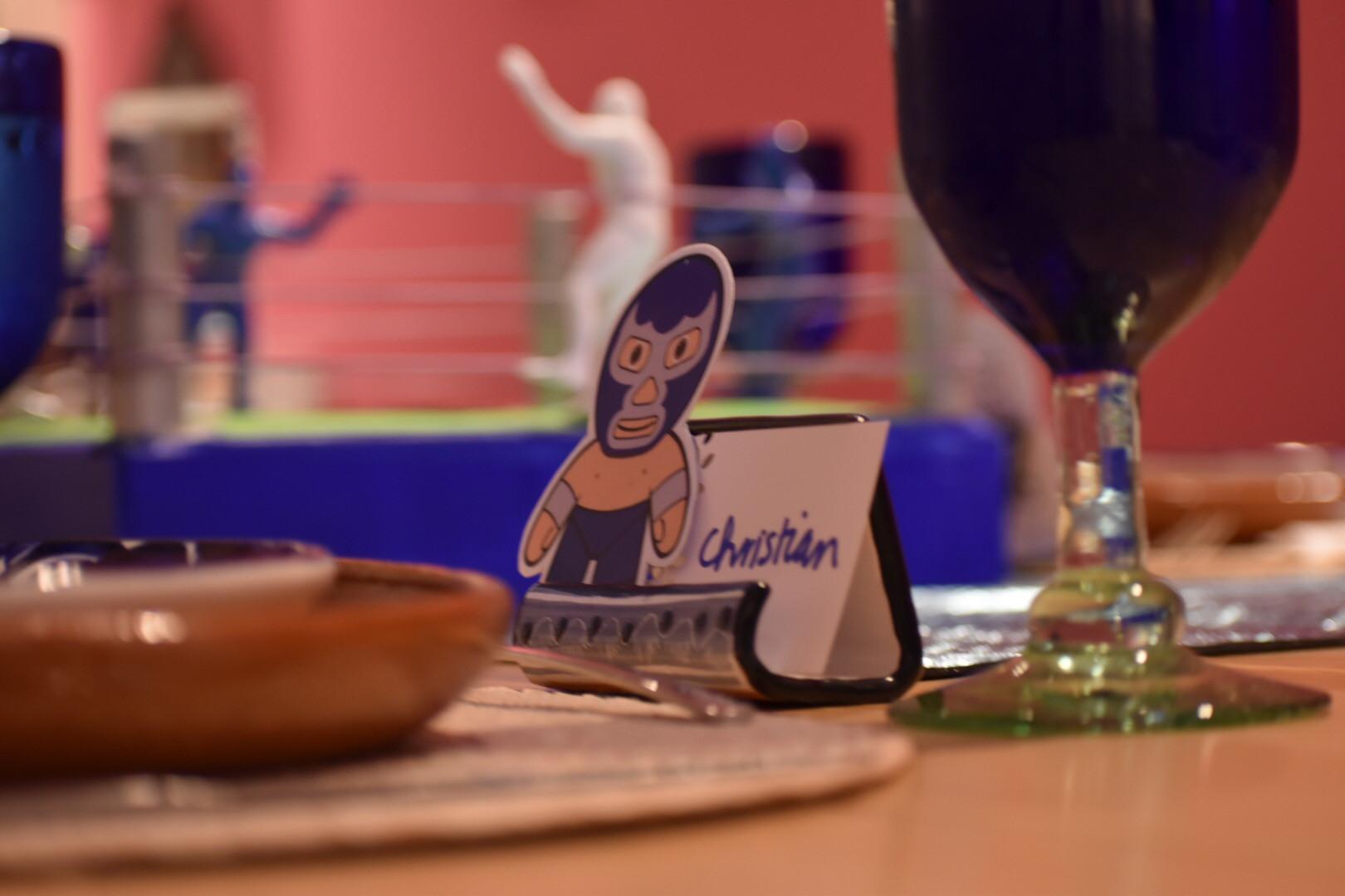 Aura Cocina Mexicana   Lucha Libre Experience   Dinner Table