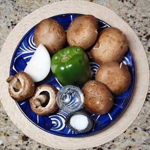 Ingredientes Taco de Alambre Vegano