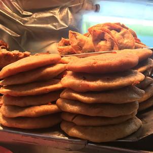 Aura Cocina Mexicana   Market Tour   Mercado de Medellin   Gorditas