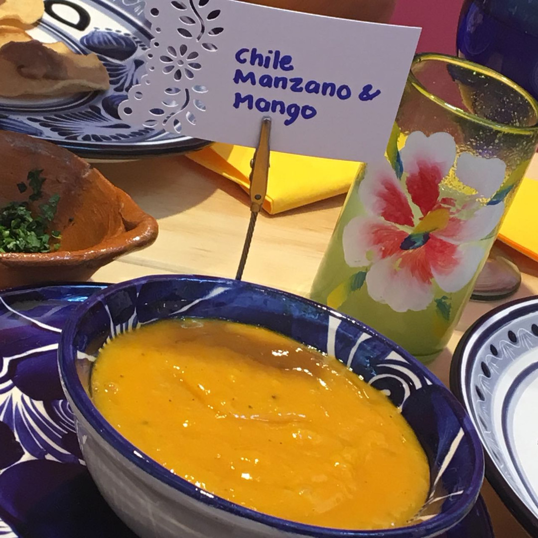 Aura Cocina Mexicana | Cooking Class | Mexico City | Mastering Mexican Salsas Cooking Class | Mango and Chile Manzano Salsa
