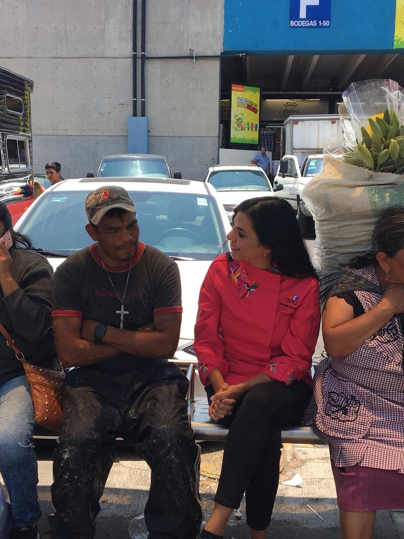 Aura Cocina Mexicana | Market Tour | Central de Abasto | Graciela Montaño