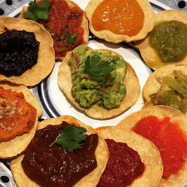 Aura Cocina Mexicana | Cooking Class | Mexico City | Mastering Mexican Salsas Cooking Class | Tasting 10 Different Mexican Salsas