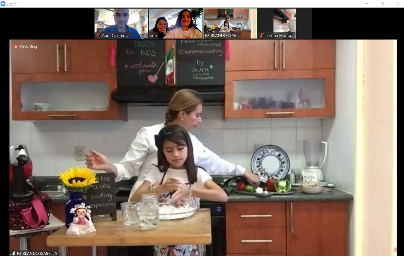 Mexican Online Cooking Class