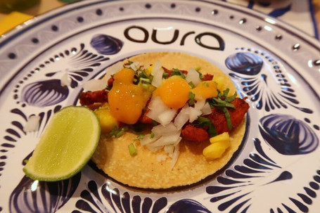 Aura Cocina Mexicana | Cooking Class | Mexico City | Mexican Street Tacos hands-on Cooking Class | Taco al Pastor Ready to be Tasted