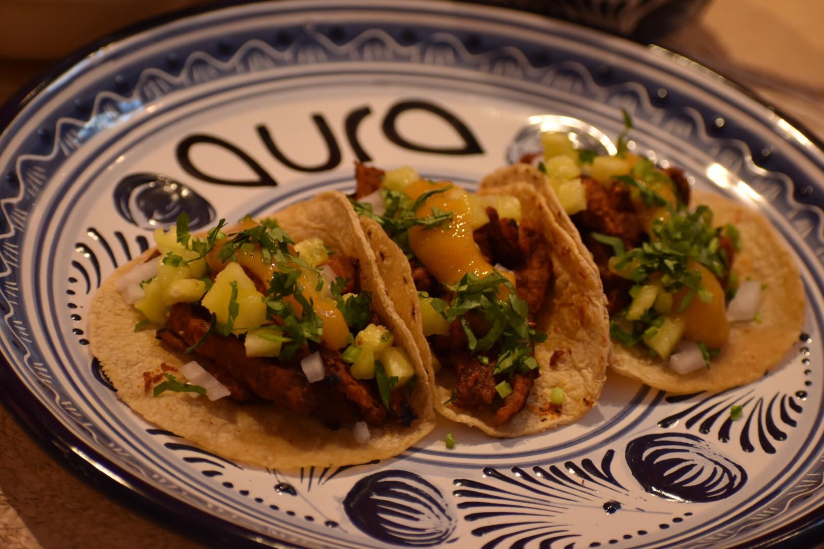 Aura Cocina Mexicana | Cooking Class | Mexico City | Mexican Street Tacos hands-on Cooking Class | Taco al Pastor