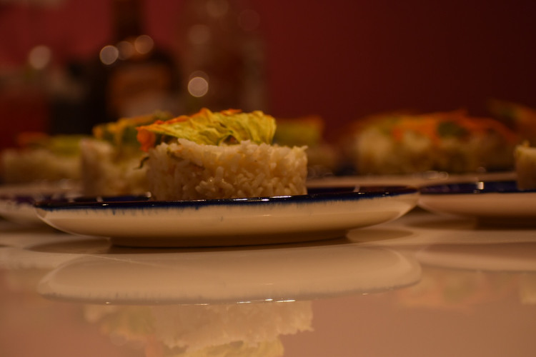 Aura Cocina Mexicana | Lucha Libre Experience | Arroz a la cerveza