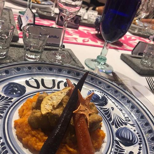 Aura Cocina Mexicana | Mexican Distillates Experience | Pork with Morita Sauce