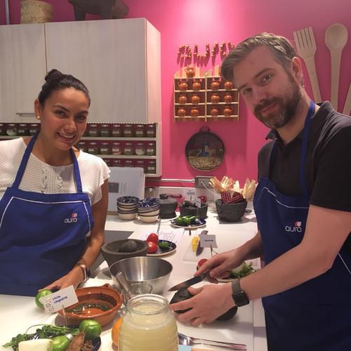 Aura Cocina Mexicana | Cooking Classes | Mexico City | Vegan Mexican hands-on Cooking Class | Cooking