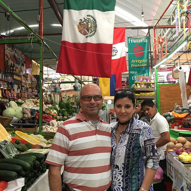 Aura Cocina Mexicana | Market Tour | Mercado de Medellin | Market Aisle