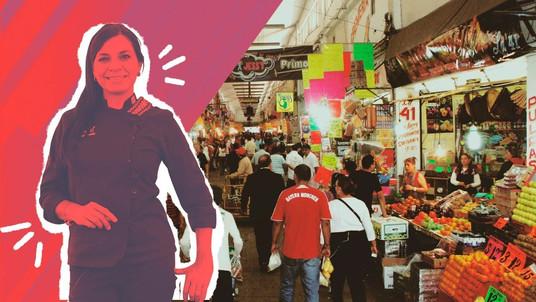 Aura Cocina Mexicana   Market Tour   Central de Abasto   Graciela Montaño