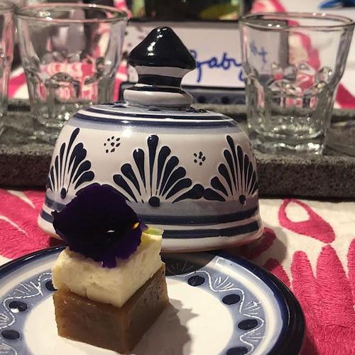 Aura Cocina Mexicana | Mexican Distillates Experience | Dessert