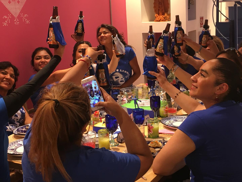 Aura Cocina Mexicana   Lucha Libre Experience   Dinning