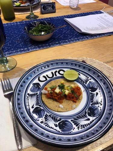 Aura Cocina Mexicana | Vegan Taco al Pastor