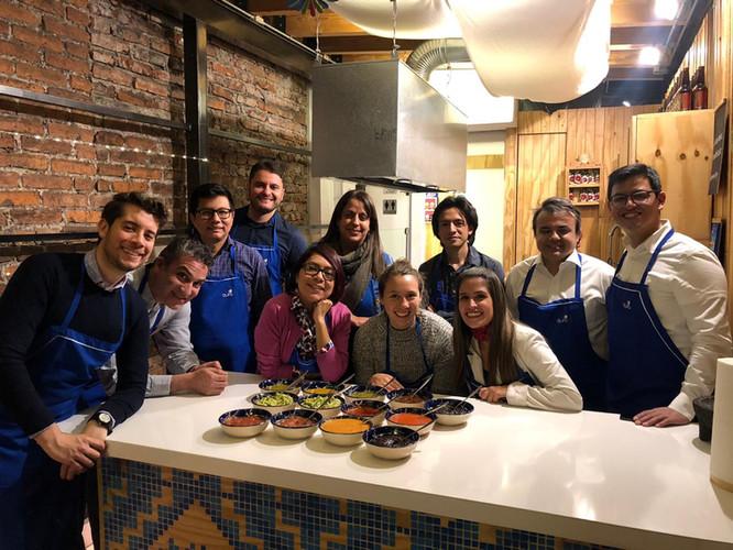 Aura Cocina Mexicana | Team Building Experiences