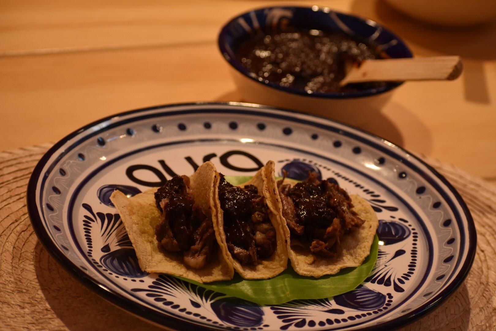 Aura Cocina Mexicana | Cooking Class | Mexico City | Mexican Street Tacos hands-on Cooking Class | Taco de Barbacoa