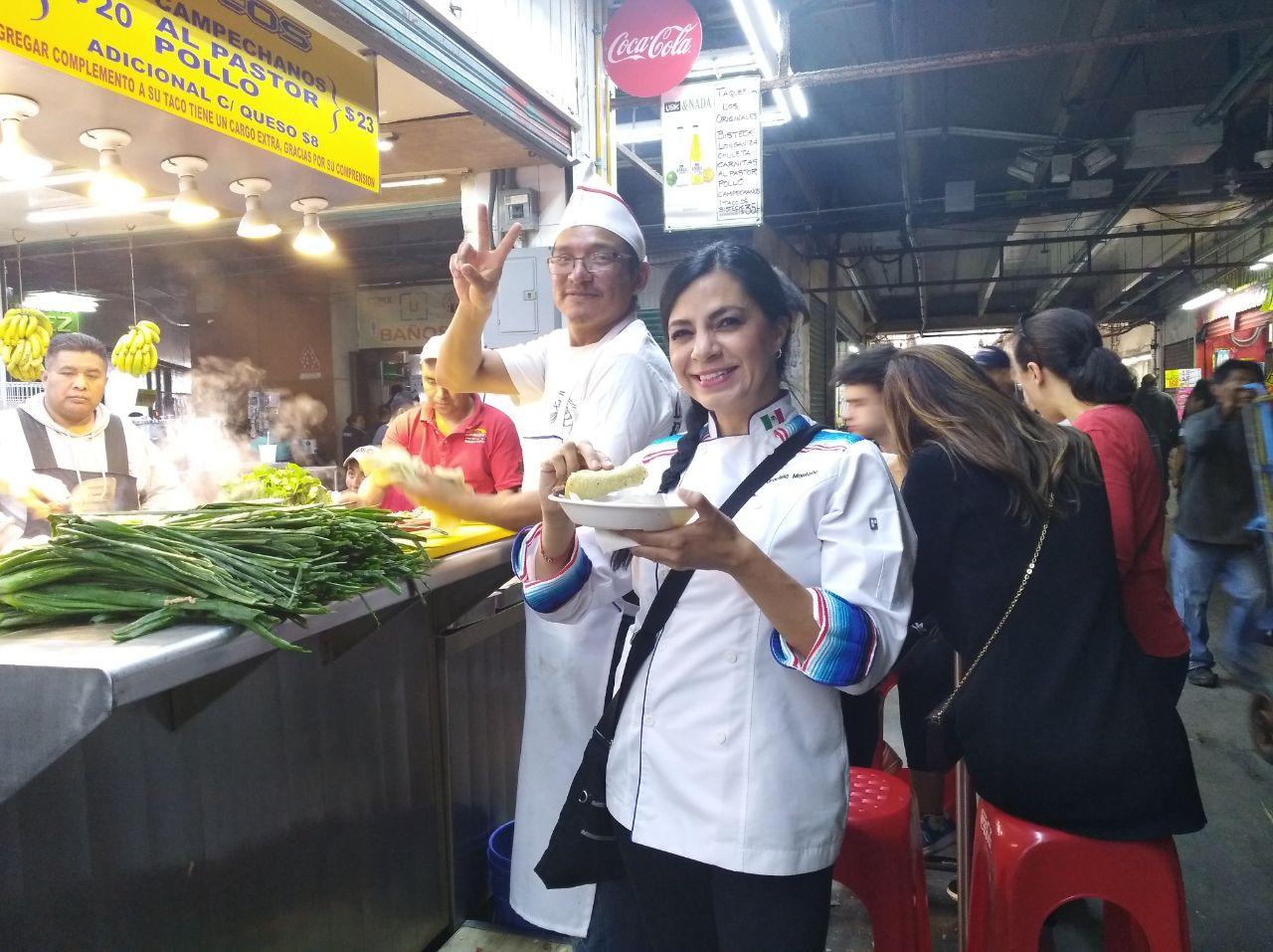 Aura Cocina Mexicana | Market Tour | Central de Abasto | Taco Tasting