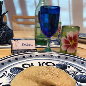 Aura Cocina Mexicana | Cooking Classes | Authentic Mexican Cooking Class | Mole Blanco