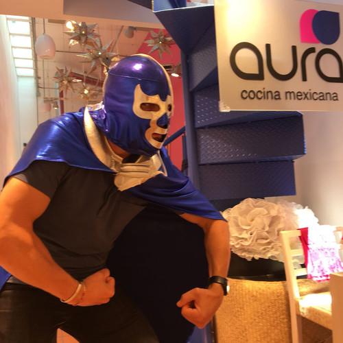 Aura Cocina Mexicana | Lucha Libre Experience