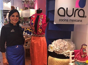 Aura Cocina Mexicana | Product Activations | Mexico City
